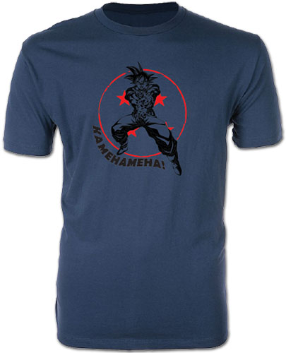 Dragon Ball Super - Goku Kamehameha Men's Screen Print T-Shirt L, an officially licensed product in our Dragon Ball Super T-Shirts department.