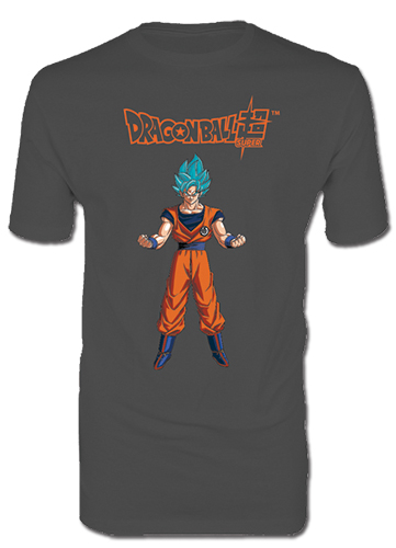 Dragon Ball Super - Ss Blue Goku Men's T-Shirt L, an officially licensed product in our Dragon Ball Super T-Shirts department.