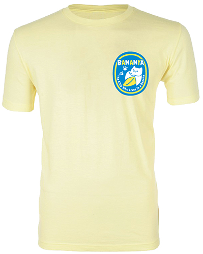 Bananya - Banana Seal Men's Screen Print T-Shirt L, an officially licensed product in our Bananya T-Shirts department.