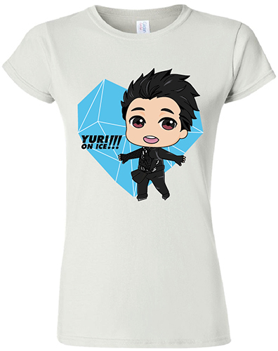 Yuri On Ice!!! - Sd Yuri Jrs. Screen Print T-Shirt L, an officially licensed product in our Yuri!!! On Ice T-Shirts department.
