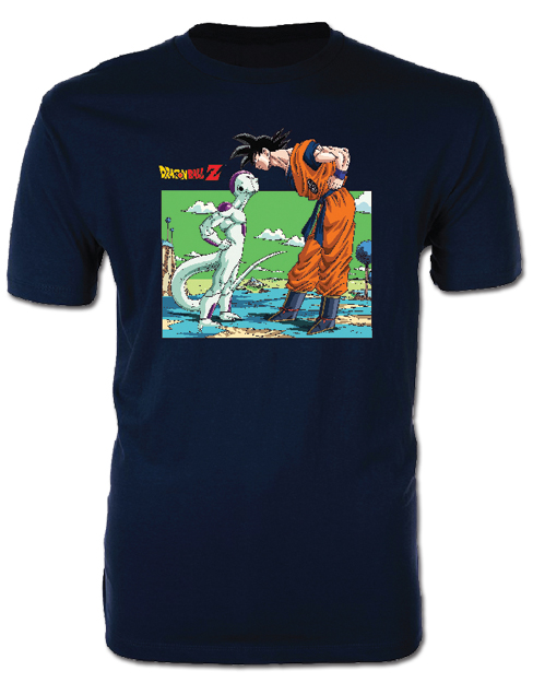 Dragon Ball Z - Goku & Frieza Men's T-Shirt L officially licensed Dragon Ball Z T-Shirts product at B.A. Toys.