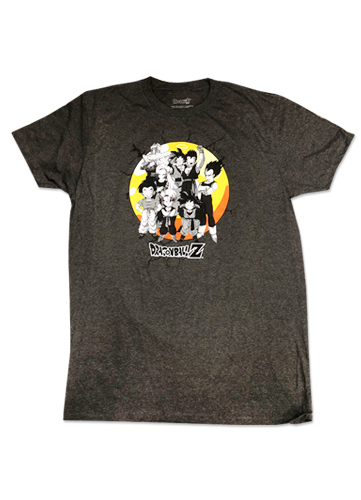 Dragon Ball Z - Group Men's T-Shirt L officially licensed Dragon Ball Z T-Shirts product at B.A. Toys.