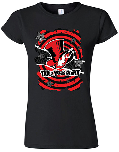 Persona 5 - Take Your Heart Jrs. T-Shirt L, an officially licensed product in our Persona T-Shirts department.