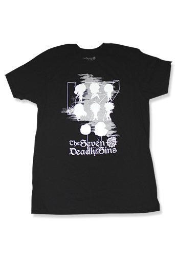 The Seven Deadly Sins - Group Men's T-Shirt XL, an officially licensed product in our The Seven Deadly Sins T-Shirts department.