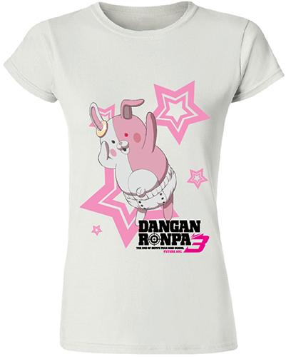 Danganronpa 3 - Monomi Jrs. T-Shirt L officially licensed Danganronpa T-Shirts product at B.A. Toys.