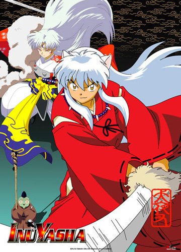 Inuyasha Sesshomaru Group Wall Scroll, an officially licensed product in our Inuyahsa Wall Scroll Posters department.