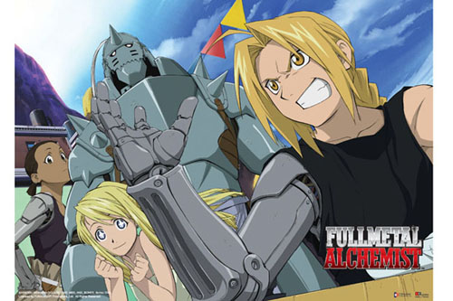 Fullmetal Alchemist Wallscroll officially licensed product at B.A. Toys.