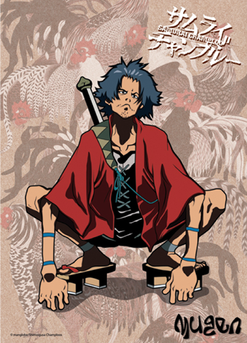 Samurai Champloo Mugen Wall Scroll, an officially licensed product in our Samurai Champloo Wall Scroll Posters department.
