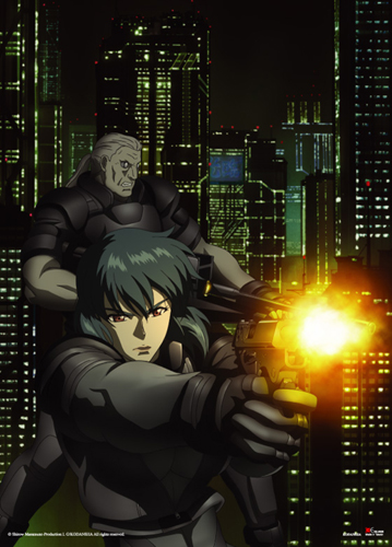 Ghost In The Shell - Sac Stand Alone Wall Scroll, an officially licensed product in our Ghost In The Shell Wall Scroll Posters department.