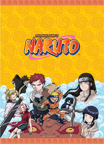 Naruto Group Wall Scroll, an officially licensed Naruto Wall Scroll