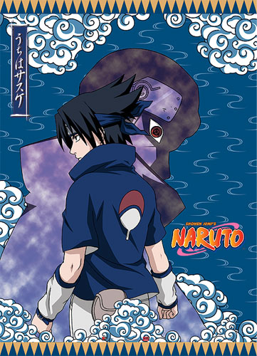 Naruto Sasuke Wall Scroll, an officially licensed product in our Naruto Wall Scroll Posters department.