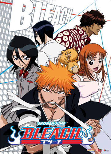 Bleach Ichigo Group Wall Scroll, an officially licensed Bleach product at B.A. Toys.