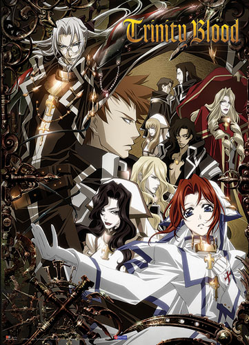 Trinity Blood Characters Wall Scroll, an officially licensed product in our Trinity Blood Wall Scroll Posters department.