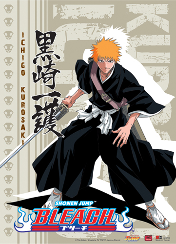 Bleach Ichigo Kurosaki Wall Scroll, an officially licensed product in our Bleach Wall Scroll Posters department.
