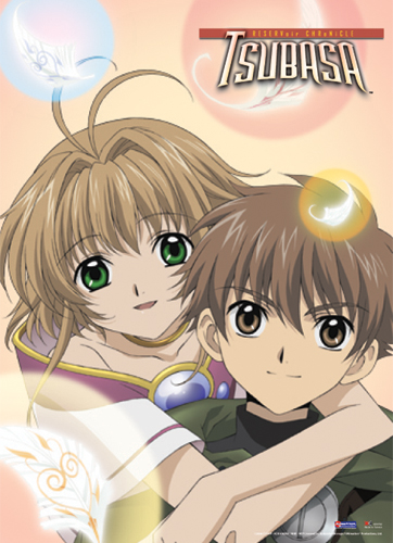 Tsubasa Syaoran & Sakura Wall Scroll, an officially licensed product in our Tsubasa Wall Scroll Posters department.