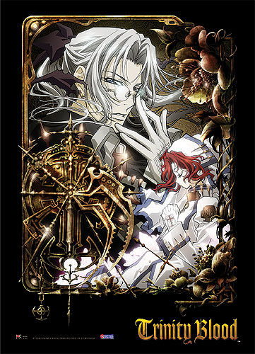 Trinity Blood Abel Esther Wall Scroll, an officially licensed product in our Trinity Blood Wall Scroll Posters department.