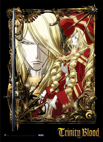 Trinity Blood Catherina Sforza & Hugo De Watteau W, an officially licensed product in our Trinity Blood Everything Else department.