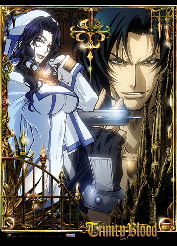 Trinity Blood Leon & Noelle Wall Scroll, an officially licensed product in our Trinity Blood Wall Scroll Posters department.