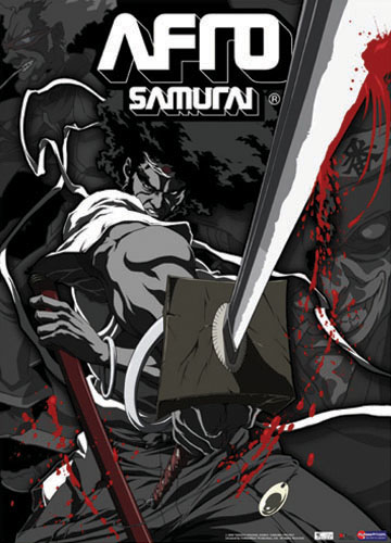 Afro Samurai Sword Wall Scroll, an officially licensed Afro Samurai product at B.A. Toys.