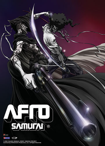 Afro Samurai Afro Vs. Justice Wall Scroll, an officially licensed Afro Samurai product at B.A. Toys.