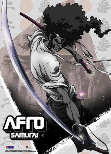 Afro Samurai Afro Cut Wall Scroll, an officially licensed Afro Samurai Wall Scroll