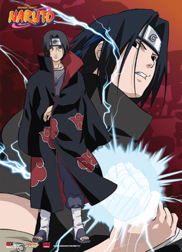 Naruto Uchiha Brothers Wall Scroll, an officially licensed product in our Naruto Wall Scroll Posters department.