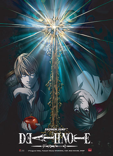 Death Note Light Vs L Wall Scroll, an officially licensed product in our Death Note Wall Scroll Posters department.