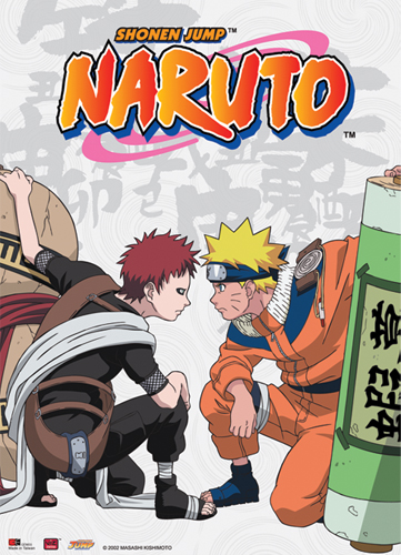 Naruto Naruto Vs Gaara Wall Scroll, an officially licensed product in our Naruto Wall Scroll Posters department.