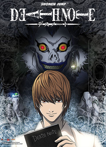 Death Note Light & Ryuk Wall Scroll, an officially licensed product in our Death Note Wall Scroll Posters department.