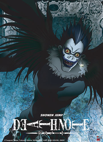 Death Note Ryuk Wall Scroll, an officially licensed product in our Death Note Wall Scroll Posters department.