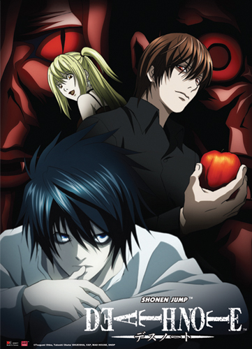 Death Note Mind Game Wall Scroll, an officially licensed product in our Death Note Wall Scroll Posters department.