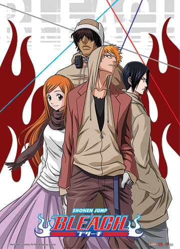 Bleach Casual Look Wall Scroll, an officially licensed Bleach product at B.A. Toys.