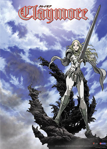 Claymore Wall Scroll, an officially licensed Claymore Wall Scroll