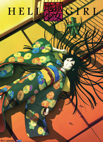 Hell Girl Laid Down Wall Scroll, an officially licensed product in our Hell Girl Wall Scroll Posters department.