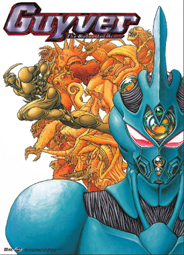 Guyver Group Wall Scroll, an officially licensed product in our Guyver Wall Scroll Posters department.