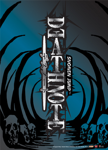 Death Note Bone Wall Scroll, an officially licensed product in our Death Note Wall Scroll Posters department.