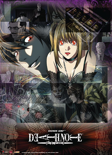 Death Note Misa & Light Wall Scroll, an officially licensed product in our Death Note Wall Scroll Posters department.