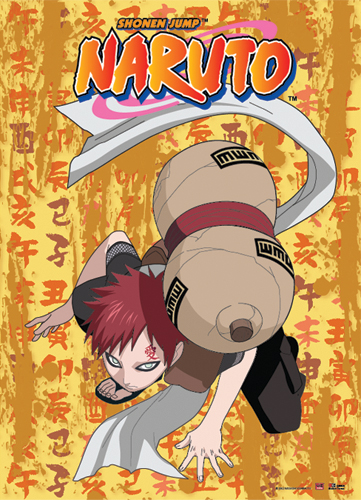 Naruto Gaara Kneel Down Wall Scroll, an officially licensed product in our Naruto Wall Scroll Posters department.