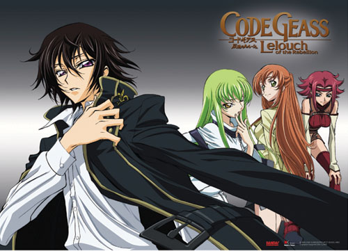 Code Geass Cc & Group Wall Scroll, an officially licensed Code Geass product at B.A. Toys.