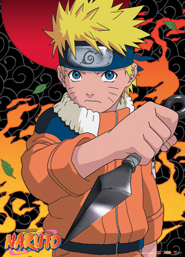 Naruto Naruto Wall Scroll, an officially licensed product in our Naruto Wall Scroll Posters department.