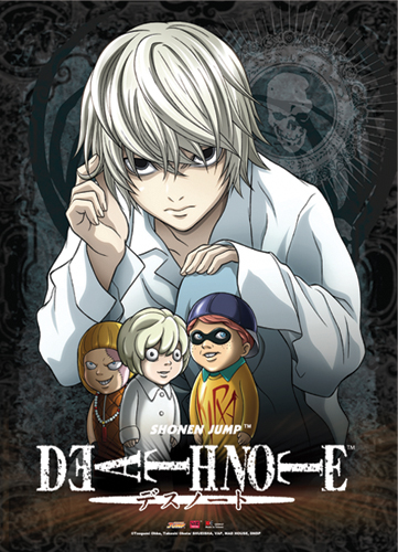 Death Note Near & Puppet Wall Scroll, an officially licensed Death Note Wall Scroll