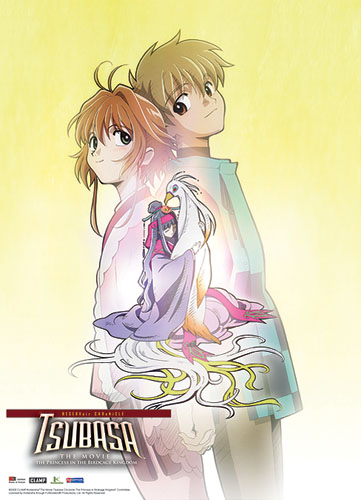 Tsubasa Movie Sakura & Syaoran Wall Scroll, an officially licensed product in our Tsubasa Wall Scroll Posters department.